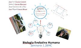 Biologia Evolutiva Humana