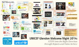 UNICEF Glendon Welcome Night 2014: