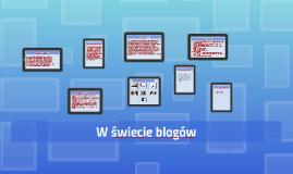 W świecie blogów