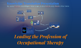 Leading the Profession of Occupational Therapy