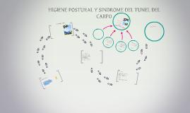 HIGIENE POSTURAL Y SINDROME DEL TUNEL DEL CARPO