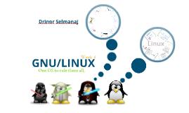 Linux 101 Week 4