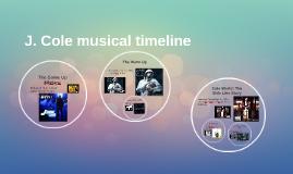 J. Cole musical timeline