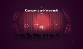 Kagawaran ng Mang-aawit