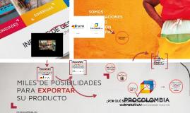 Cambio de imagen PROEXPORT a PROCOLOMBIA