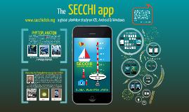 Secchi App for iOS
