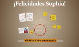 XV Años Cielo Maria Sophia