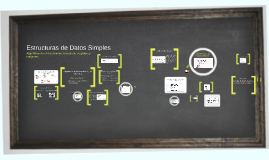 Estructuras de Datos Simples