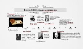 Línea del tiempo osteosarcoma