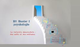 Formation BUA Master 1 Psychologie clinique et Psychopathologie