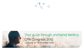 Presentation at the ACT CPA Australia Congress, 16 November 2012