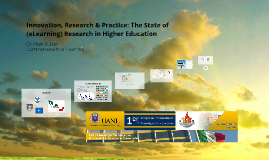 The State of (eLearning) Research in Higher Education