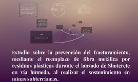 Estudio sobre la prevención del fracturamiento, mediante el