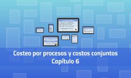 Costeo por procesos y costos conjuntos