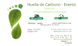 Huella de Carbono – Evento