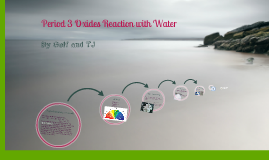 Chemistry Project: Period 3 Oxides Reaction with Water