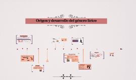 Origen y desarrollo del gènero lìrico
