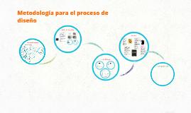 Metodologia para Proceso de Diseño