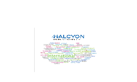 Welcome to Halcyon London International School