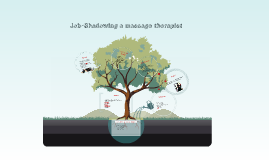 Copy of Job-Shadowing a massage therapist