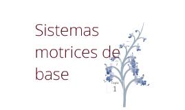 Sistemas motrices de base