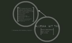 ALGEBRA  WIT TRIG
