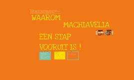 Copy of Machiavelia