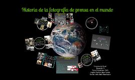 Copy of Historia de la fotografía de prensa en el mundo