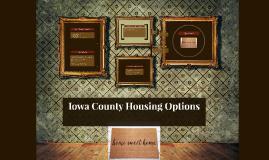 Iowa County Housing