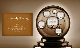 Scholarly Writing