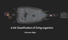 6.06 Classification of living organism