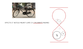 EFFECTS OF BICYCLE HELMET LAWS ON CHILDEREN'S INJURIES
