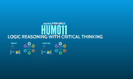 LOGICAL REASONING WITH CRITICAL THINKING (HUM011)