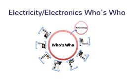 Electricity/Electronics Who's Who