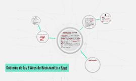 Copy of Gobierno de los 6 Años de Buenaventura Baez