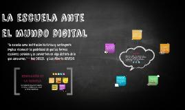 la escuela ante el mundo digital