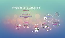 Portafolio No. 3 Evaluación