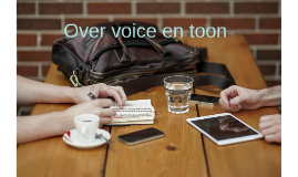 Over voice en toon