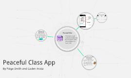 Peaceful Class App