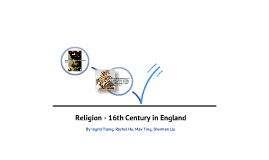 Religion - 16th century in England