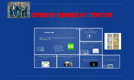 outsiders-elements of literature