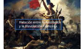 Copy of Relaciòn entre la Ilustraciòn y la Revoluciòn Francesa