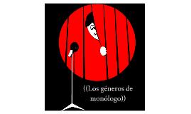 Los géneros de monólogo en la radio