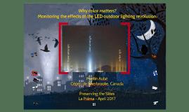 La Palma 2017 - preserving the sky