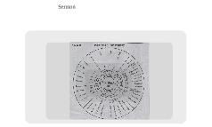 Pastor's Wheel Chart