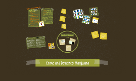 Crime and Deviance: Marijuana