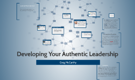 Developing Your Authentic Leadership