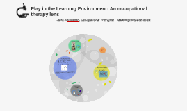 Play in the Learning Environment: An occupational therapy le