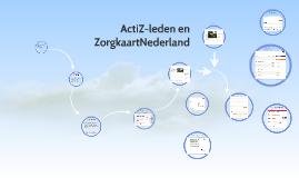 Thebe- brainstorm keuzesite ZorgkaartNl