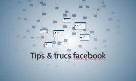 Tips & trucs facebook